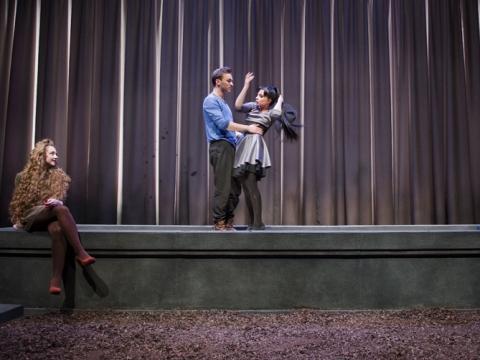 """""""Hamletas mirė. Gravitacijos nėra"""" D. Matvejevo nuotr."""