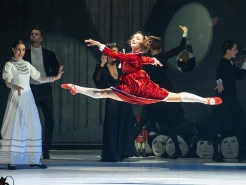 "Kira Tykhonova balete ""Spragtukas"". M. Aleksos nuotr."