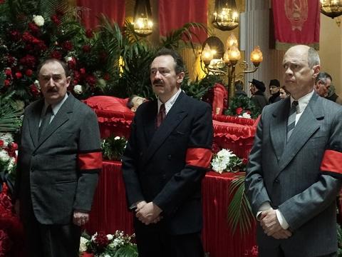 """Kadras iš filmo """"Stalino mirtis"""""""