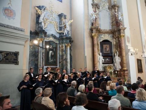 Šv. Jokūbo sakralinės choro muzikos festivalio atidarymas Šv. apaštalų Pilypo ir Jokūbo bažnyčioje. V. Dranginio nuotr.