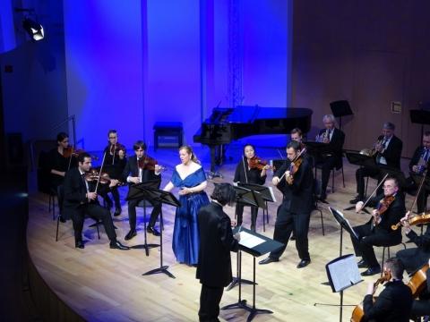 Martynas Švėgžda von Bekkeris, Frauke-Maria Thalacker, dirigentas Fausto Fungaroli. Gu-Yang Poon nuotr.