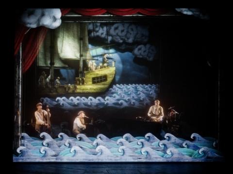 "Grupės ""The Tiger Lillies"" spektaklis ""Sakmė apie seną jūreivį"". D. Matvejevo nuotr."