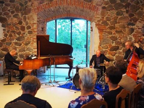 Tordo Gustavseno trio Paliesiuje. A. Vytienės nuotr.