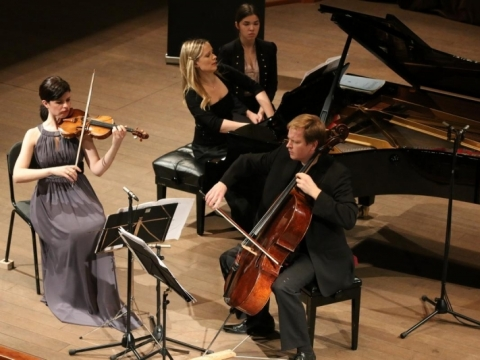 """Trio Enescu"". A. Rakausko nuotr."