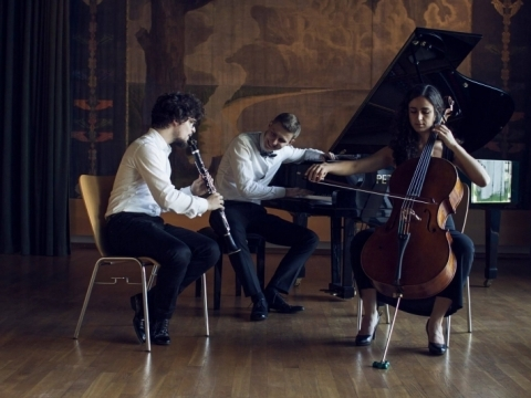 """Trio """"Agora"""". E. Jasiukaitytės nuotr."""