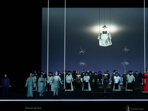 """""""Turandot"""". Teatro Real Madrid. 2018 m. Javier del Real nuotr."""