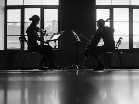 """Twenty Fingers Duo"". A. Morozovo nuotr."