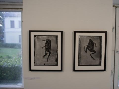 """Parodos """"Kontaktas"""" meno komplekse """"Sodas 2123"""" ekspozicijos fragmentas. T. Malinausko nuotr."""
