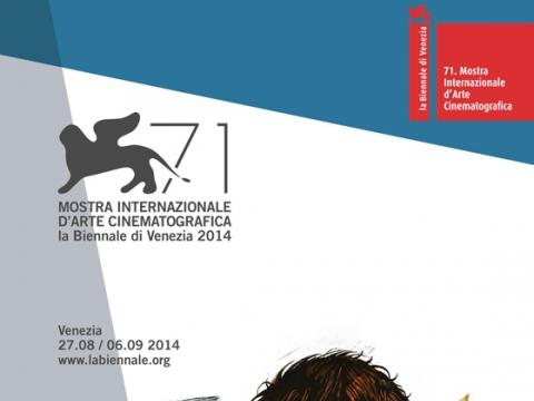 Tarptautinio Venecijos kino festivalio plakatas