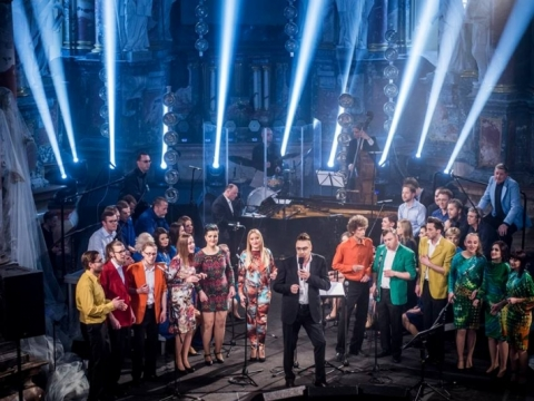 """Choro """"Vilnius"""" koncerto akimirka. V. Dranginio nuotr."""