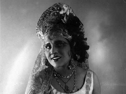 "Vincė Jonuškaitė-Zaunienė G. Bizet operoje ""Karmen"". Konkurso archyvo nuotr."