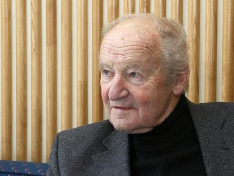 """Vytautas Nasvytis. Iš """"Lietuvos ryto"""" archyvo"""