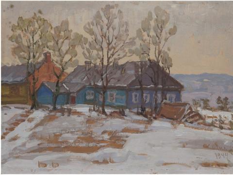 Žiemos vaizdas 1944 m.