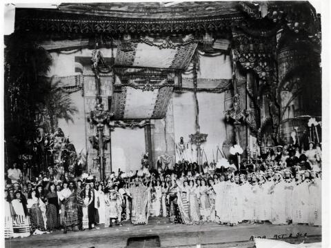 """Aida"". 1908 m. ""Metropolitan opera"" nuotr."