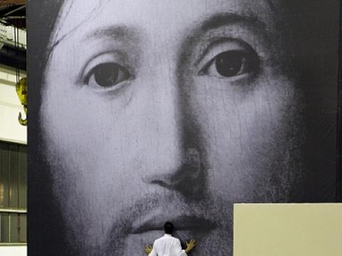 """Romeo Castellucci. """"Apie Dievo Sūnaus veido koncepciją"""". K. Lefebvre nuotrauka"""