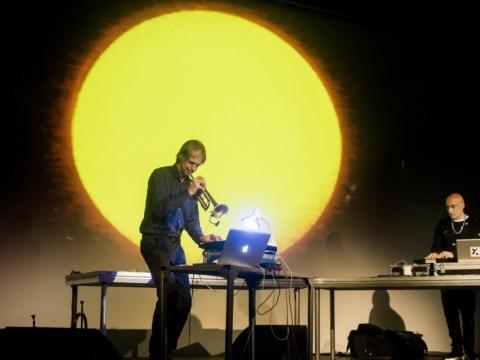 Markus Stockhausen su MartuX-M. D. Matvejevo nuotr.