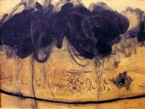 """Henrikas Šalkauskas (1925–1979, Lietuva, Australija), """"Abstrakcija"""". 1964 m. Iš """"Kunstkameros"""" archyvo"""