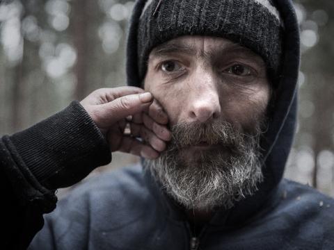"""Jindřich Štreit, iš ciklo """"Kur namai mano?"""""""