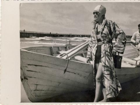 Veronika Šleivytė, XX a. 4 – 5 deš. Nuotrauka iš Kupiškio etnografijos muziejaus