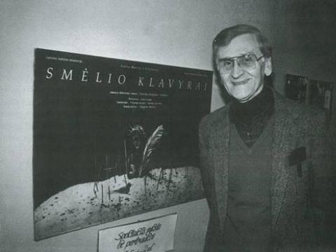 Algirdas Landsbergis Kauno dramos teatre 1991 m.