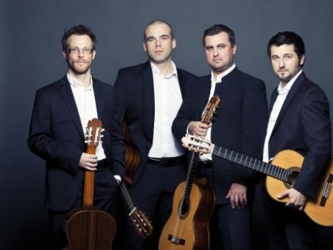 Baltijos gitarų kvartetas. Organizatorių nuotr.