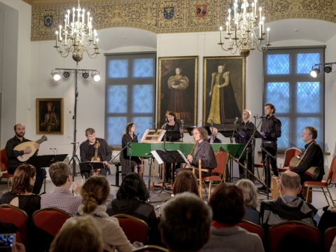 "Dauguma festivalio ""Banchetto musicale"" koncertų vyks Valdovų rūmuose. V. Ščiavinsko nuotr."