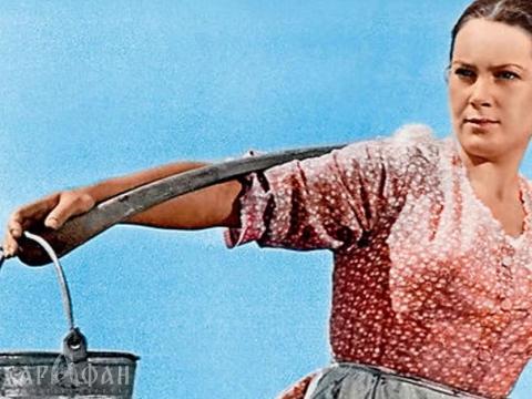 "Elina Bystrickaja filme ""Tykusis Donas"""