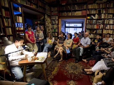 Akimirkos iš Europos literatūros nakties renginių Prahoje. V. Brtnický nuotr.