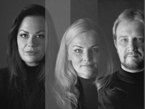 Indrė Baikštytė, Ingrida Rupaitė, Povilas Jacunskas. Ansamblio CD viršelis