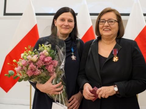 Lolita Jablonskienė ir Raminta Jurėnaitė. Valentyn Odnoviun nuotrauka