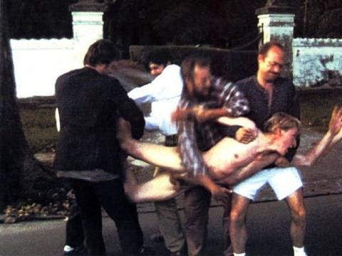 """Kadras iš Larso von Triero filmo """"Idiotai"""""""
