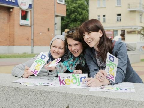 """""""keðja"""" suvažiavimas Klaipėdoje. V. Petriko nuotr."""