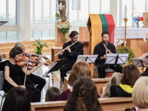 Koncertas Nidos bažnyčioje. Organizatorių nuotr.