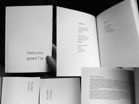 "Knyga ""Lietuviu poez1ja"". J. Jokūbaitytės nuotr."
