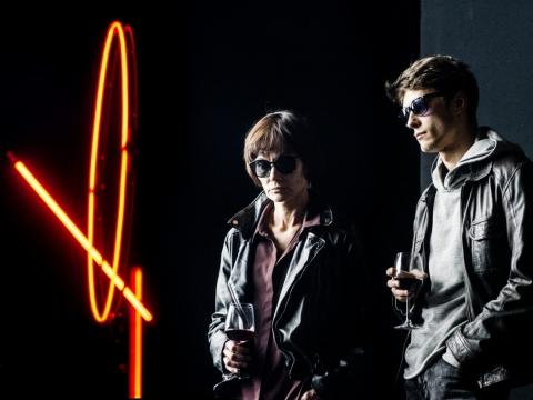 Airida Gintautaitė (Marie Trintignant) ir Arnas Danusas (Romanas Kolinka). D. Matvejevo nuotr.