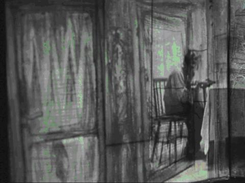"""Kadras iš filmo """"Living Room"""". 2010 m."""