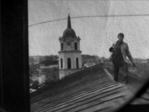 """Kadras iš Giedrės Žickytės filmo  """"Meistras ir Tatjana"""""""