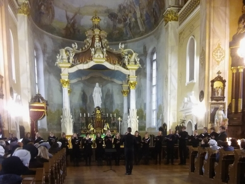 Koncertas  Panevėžio Kristaus karaliaus katedroje