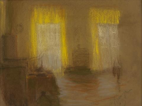 Ferdinandas Ruščicas. Auksinis kambarys. 1913. Lietuvos nacionalinis dailės muziejus