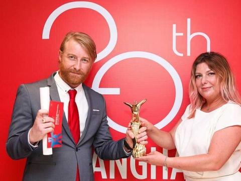 Dorota Kobiela ir Hughas Welchmanas, nuotr. lovingvincent.com