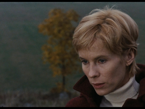 "Bibi Andersson Ingmaro Bergmano filme ""Prisilietimas"" (1971)"