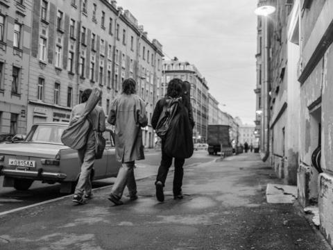 """Kadras iš Kirillo Serebrennikovo filmo """"Vasara"""""""