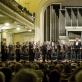 Juozas Domarkas ir Lietuvos nacionalinis simfoninis orkestras. D. Matvejevo nuotr.
