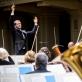 Modesto Pitrėno diriguojamas Lietuvos nacionalinis simfoninis orkestras. D. Matvejevo nuotr.
