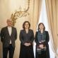 Žiuri: G. Žalys, B. Baublinskienė, A. Liutkutė, pirmininkė B. Vizgirdienė. K. Kurieniaus nuotr.