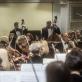 Lietuvos nacionalinis simfoninis orkestras irModestas Pitrėnas. D. Matvejevo nuotr.