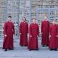 """Ansamblis """"Schola Cantorum Riga"""". LNF archyvo nuotr."""