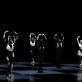 "Scena iš baleto ""Moving rooms"". M. Aleksos nuotr."
