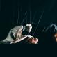 """Scena iš spektaklio """"Negaliu sustoti"""" (Latvija). J. Suslavičiūtės nuotr."""