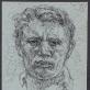 Petras Repšys, Autoportretas. Apie 1956 m.